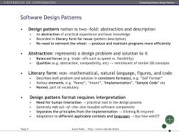 Mapreduce Design Patterns Source Code Ppt Evaluating Software Design Patterns The Gang Of