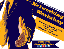 career development to host networking workshop lunch