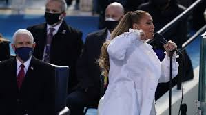 She is an american origin singer, actor, fashion designer, songwriter, dancer, businesswoman and as well as a producer. Jennifer Lopez Sings At Biden Inauguration The New York Times