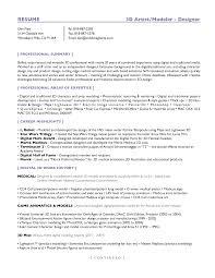3d Artist Resume Resume For Study