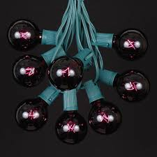 Blacklight String Lights Beauteous 32 Black Light G32 Globe String Light Set On Green Wire Novelty