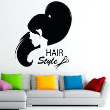 a5484104 premium hair salon wall decor waterproof wall decals hairstyle hair salon vinyl home decor wall