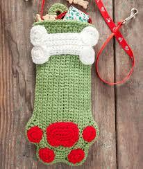 Crochet Christmas Stocking Pattern Mesmerizing 48 Crochet Christmas Stockings AllFreeCrochet