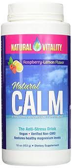 <b>Natural Vitality Natural Calm</b> Magnesium <b>Anti Stress</b>, Organic ...