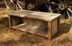 DIY Rustic Entryway Bench