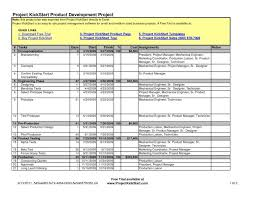 Proposal Tracking Spreadsheet Or Plans Small Business Project Plan