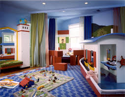 Kids Room Design: Twining Design Seascape Childs Room Boat Wall Murals  Primary Colors - Decoration