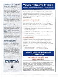 protective life enrollment letter protective life enrollment flyer
