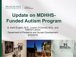 Update On Mdhhs Funded Autism Program