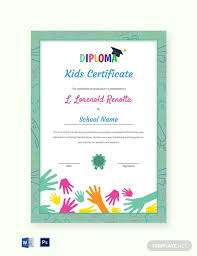 School Certificates Template School Certificate Template 30 Free Word Psd Format