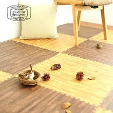 high quality wood grain foam puzzle mat 9pcs 2017 home decor interlocking anti fatigue floor area