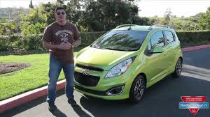2013 Chevy Spark Review - YouTube