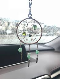 Dream Catcher For Car Mirror Delectable Rear View Car Charm Dream Catcher Gift For Daughter Rearview