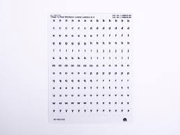 Feel N Peel Stickers Braille Print Alphabet Letters