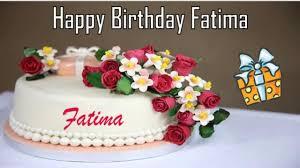 Happy Birthday Fatima Image Wishes Youtube