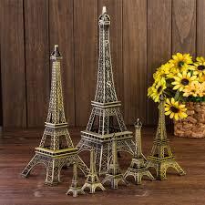 Eiffel Tower Home Decor Accessories Paris Eiffel Tower Decoration Model metal Home Decor Birthday Gift 6