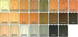 Behr Semi Transparent Wood Stain Color Chart Behr Red Cedar Stain Waifu4x Co