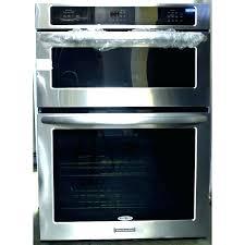 wall oven microwave combo kitchenaid 27
