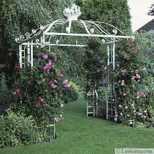 Small Picture 20 Metal Arches and Beautiful Yard Landscaping Ideas