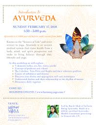 Ayurveda Workshop Flier Final 01