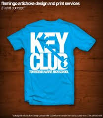 Key Club T-Shirt Design | Shirts, Comment and Schools