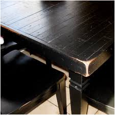 Distressed Black Kitchen Table Kitchen Black Wooden Kitchen Table And Chairs Dining Room Black