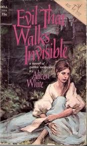 alicen white the evil that walks invisible vine gothic romance books covers art