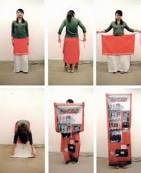 Vending Machine Skirt Delectable Aya Tsukioka From Skirt To Vending Machine A Model Demonstrates