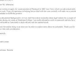 Resume Cover Letter Format Luxury Legal Secretary Cover Letter