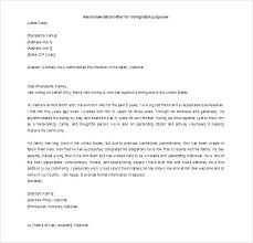 Ins Reference Letter Sample Irelay Co