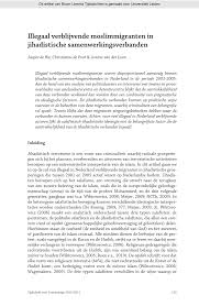 Pdf And Netherlands The Safety In Illegal Residence Public rEwPrq