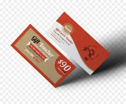 gift card voucher business cards group