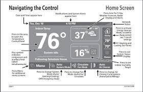 trane 824 thermostat. trane xl824 user interface navigation control 824 thermostat