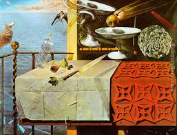 living still life painting salvador dali living still life art painting