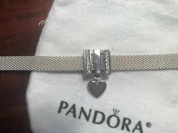 pandora reflexions silver mesh bracelet