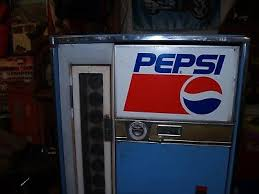 How Does A Soda Vending Machine Work New VINTAGE PEPSI COLA Soda Pop Vending MachineVendo H48ABottle