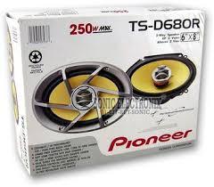 pioneer 6x8 speakers. product name: pioneer ts-d680r 6\ 6x8 speakers