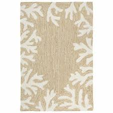 area rugs cape c indoor outdoor border rug natural