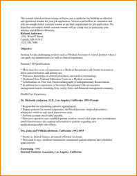 Medical Assistant Resume Objective Examples Oloschurchtp Com