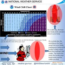 How Wind Chill Works And Other Cold Weather Notes Bklyner