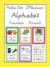 Fountas And Pinnell Where To Start Chart Dnealian Fountas Pinnell Aligned Alphabet Letter Sound