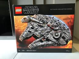 the lego star wars ultimate collector series ucs millennium falcon was unveiled during force friday 2017