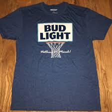March Madness Bud Light Bud Light March Madness Shirt Mens Size Xl Slim Depop