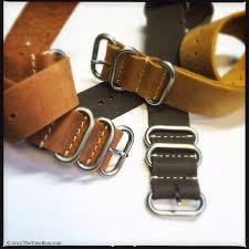nato strap company leather nato and zulu straps