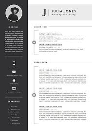 Professional Resume Templates Word Custom Professional Resume Template Cover Letter Icon Set For Microsoft
