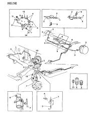 1989 dodge omni lines hoses brake diagram 00000xlr