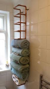 Small Bathroom Storage Ideas Custom Bathrooms Wall Mounted Towel Rack For Rolled Towels Inspiring