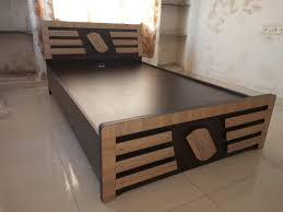 Double Bed Sunmica Designs Furniture Market In Ahmedabad Bedroom Bed Collection Ahmedabad