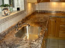 Kitchen Countertops Without Backsplash Pre Made Formica Countertops