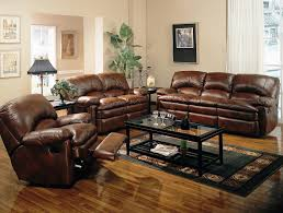 Leather Living Room Leather Living Room Sets On The Wooden Table Beautiful Leather